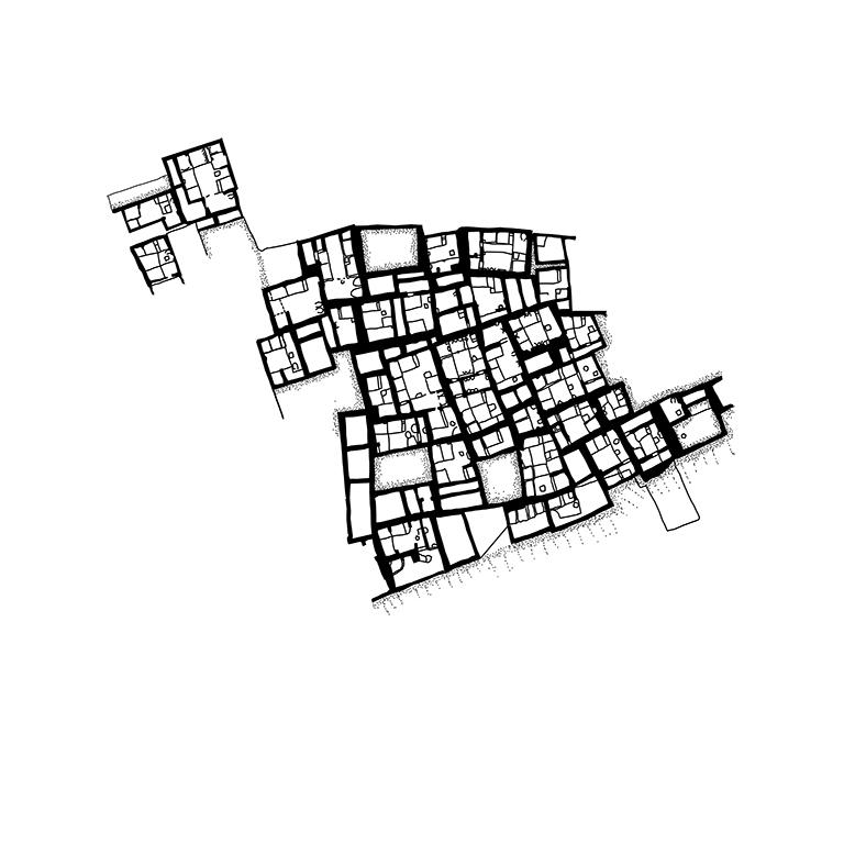 City of Çatalhöyük, southern Anatolia, (approximately 7500 BC to 5700 BC)