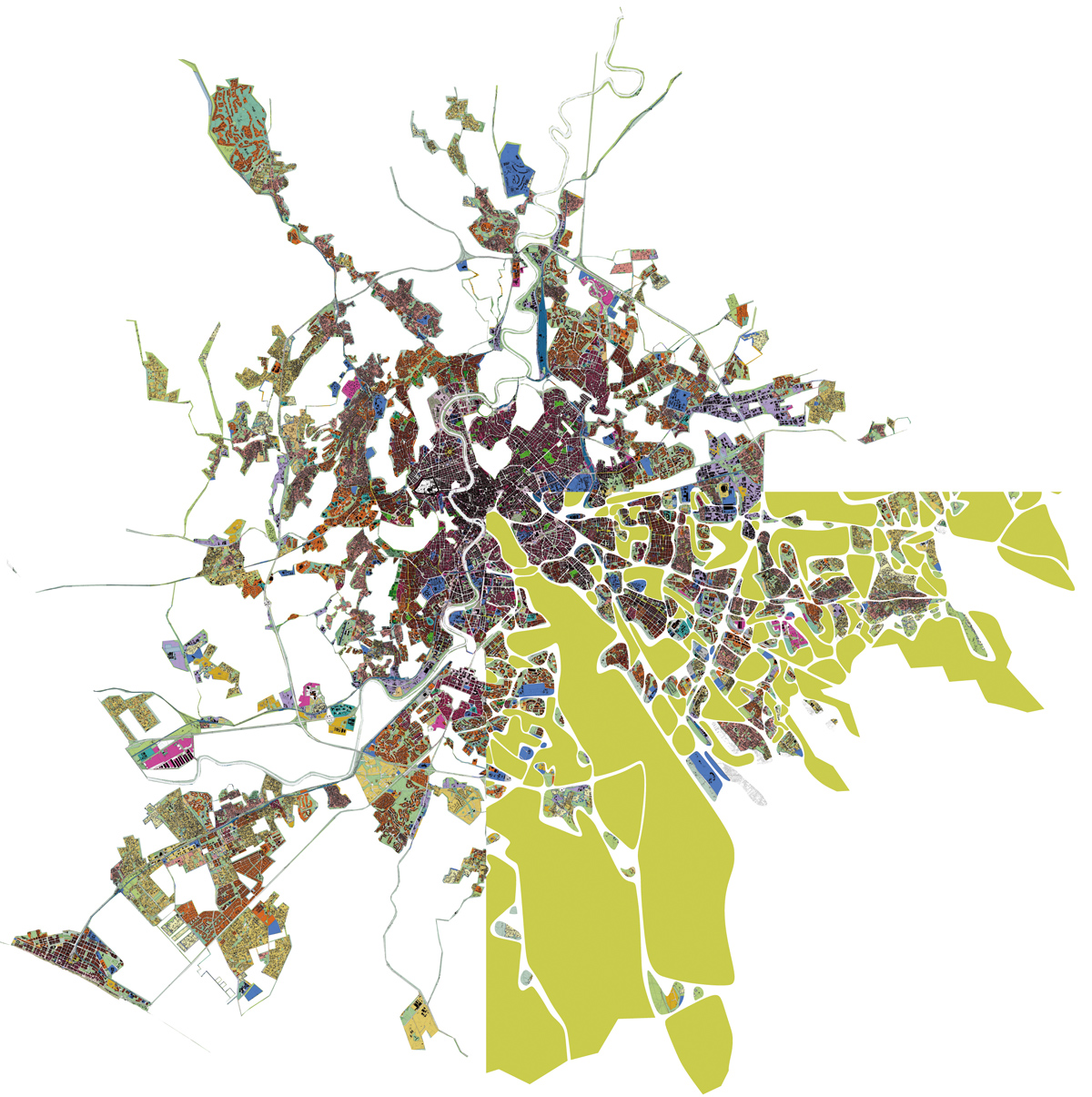 Labics, The islands and the emerging structure, Roma
